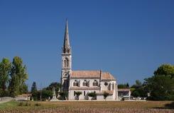 Francuski kościół obrazy stock