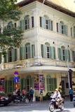 Francuski kolonialny budynek w Saigon Zdjęcie Royalty Free