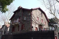 Francuski koncesja teren, siedziba Zhou Enlai w Szanghaj obraz royalty free