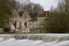 francuski kraju wioski Fotografia Royalty Free
