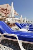 francuski lounging Riviera Obraz Stock