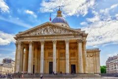 Francuski mauzoleum Wielcy ludzie Francja Obrazy Royalty Free