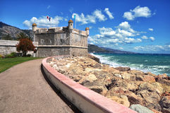 francuski menton Riviera Zdjęcie Royalty Free