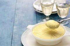 Francuski śmietankowy kartoflany puree Zdjęcie Royalty Free