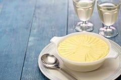 Francuski śmietankowy kartoflany puree Obraz Stock