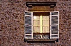 Francuski okno zdjęcia royalty free