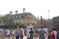 Francuski pawilon przy Epcot obraz royalty free
