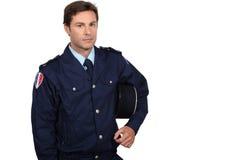 Francuski policjant Fotografia Royalty Free