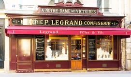 Francuski rocznika sklepu spożywczego sklep Legrand, Paryż, Francja Obrazy Stock