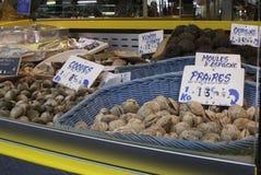 Francuski rybi rynek Obrazy Stock