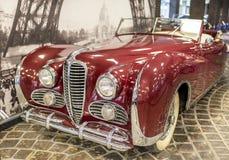 Francuski samochodowy Delahaye 175 Fotografia Royalty Free