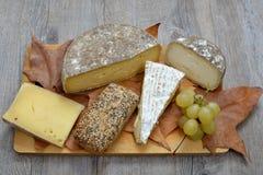 Francuski serowy półmisek Obrazy Stock