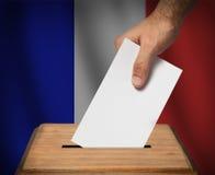 Francuski wybór prezydenci Zdjęcia Stock