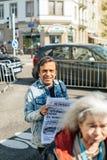 Francuski 2017 wybór prezydenci agitaci Parti polityczny ouv Zdjęcia Stock