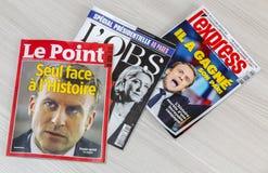 Francuski wybory 2017 Obraz Stock