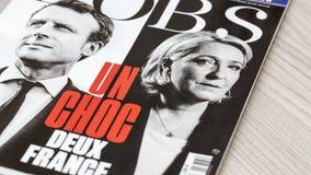 Francuski wybory 2017 Obraz Royalty Free