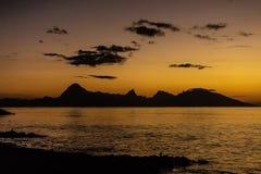 francuski wyspy moorea Polynesia widok zdjęcie royalty free