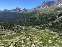 francuskich alp fotografia stock