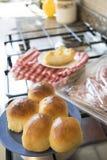 Francuskie chlebowe rolki Fotografia Stock