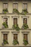 francuskie okna Obrazy Stock