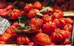 Francuzów targowi pomidory Zdjęcie Stock