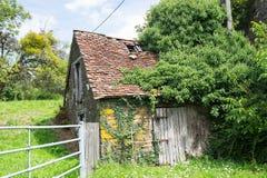 Francuz łamający dom Obraz Royalty Free