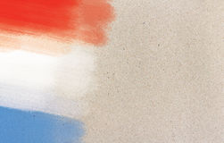 Francuz flaga Obrazy Royalty Free