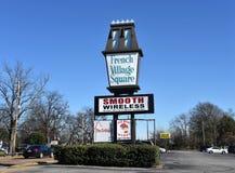 Francuz Kwadratowa wioska, Memphis TN zdjęcia royalty free