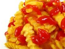 francuz smaży ketchup Zdjęcia Royalty Free
