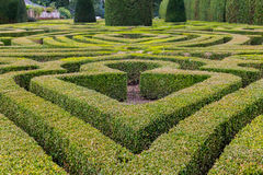 francuza formalny ogród zdjęcie stock