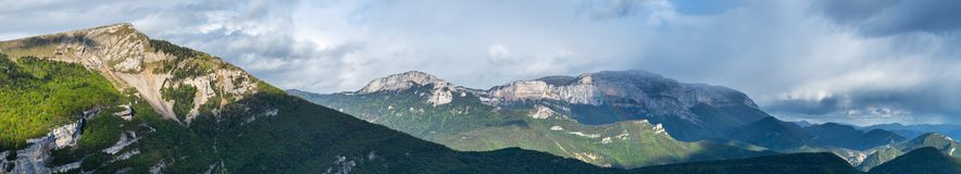Francuza krajobraz - Vercors obrazy royalty free