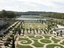 Francuza ogród zdjęcie royalty free