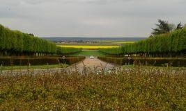 Francuza ogród Zdjęcia Stock
