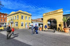 Francuza rynek w Nowy Orlean, Luizjana zdjęcia royalty free