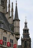 Franeker shopping street Stock Image