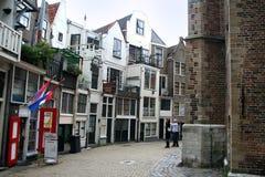 Franeker shopping street Stock Images