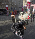 Frangia di festival di Edinburgh fotografia stock