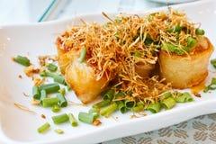 Frango frito com nardo Fotografia de Stock Royalty Free