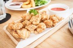 Frango frito japonês Karaage Imagens de Stock Royalty Free