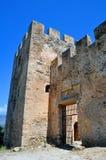 Frangocastello castle. Royalty Free Stock Images