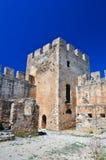 Frangocastello castle. Royalty Free Stock Photos