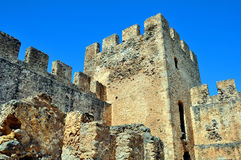Frangocastello castle. Royalty Free Stock Photography