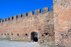 Frangocastello castle. Royalty Free Stock Photo