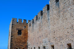 Frangocastello castle. Royalty Free Stock Photos
