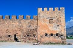 Frangocastello Schloss. Lizenzfreie Stockbilder