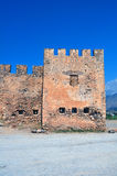 Frangocastello Schloss. Stockbild