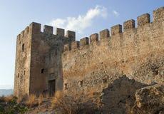 frangokastello замока напольное Стоковые Фото