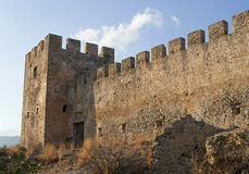 Frangokastello castle, outdoor Stock Photos