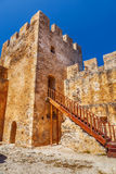 Frangokastello fortress in Crete. Royalty Free Stock Image