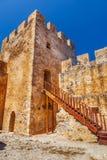 Frangokastello fortress in Crete. Royalty Free Stock Image